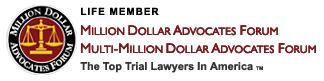 Logo Recognizing J.P. Gonzalez-Sirgo, P.A.'s affiliation with Million Dollar Advocates